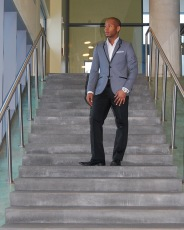 H&M Sport Blazer | Express Tux Pants | Aldo Leather Shoes