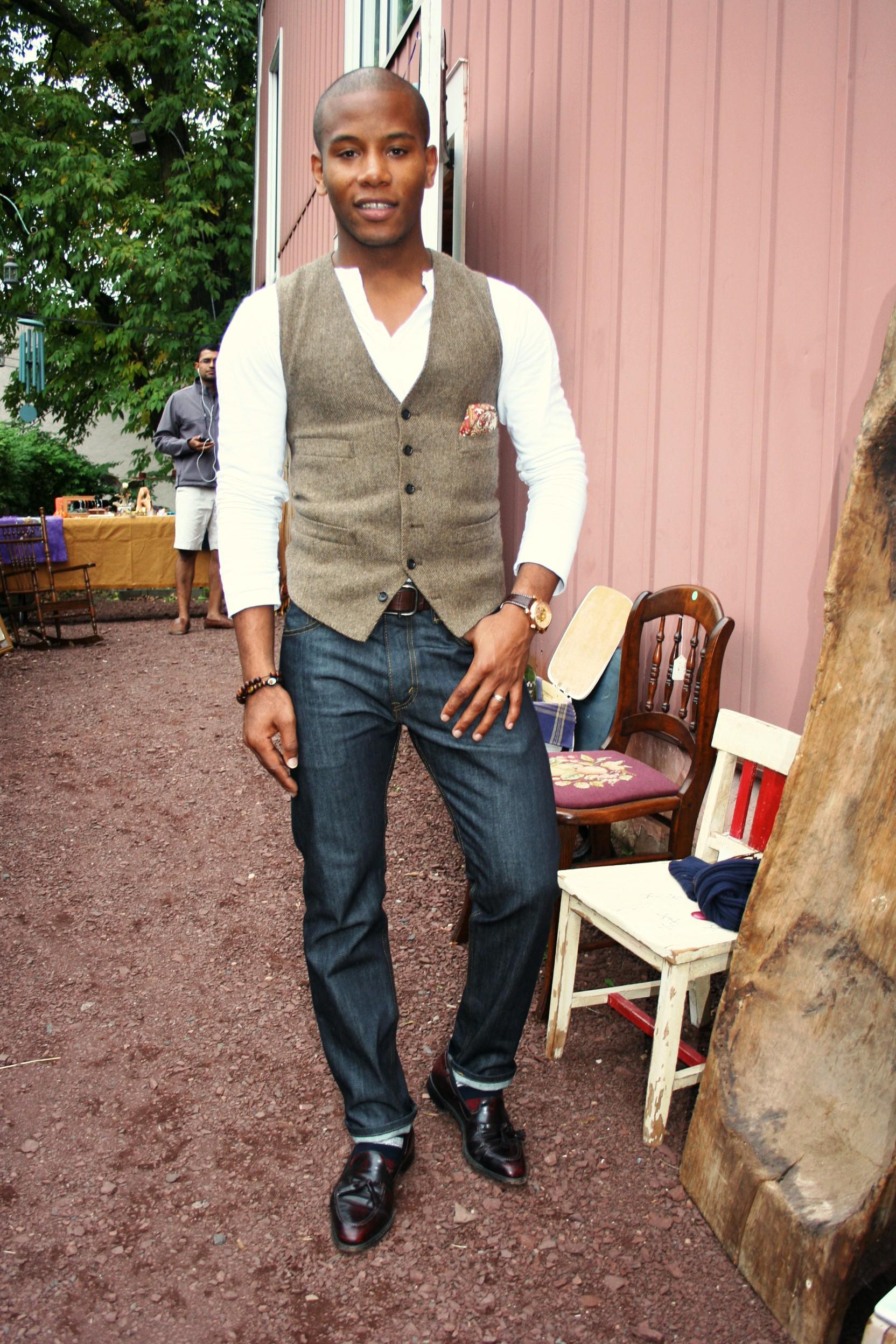 The English Wool Herringbone Waist Coat Men S Style Pro