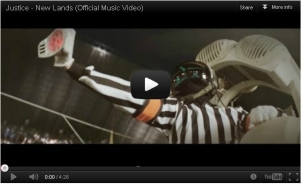 justice new lands video screen shot 2