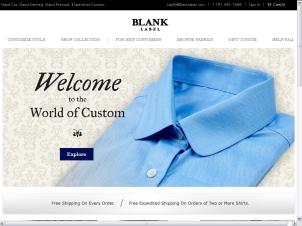 Blank Label Screen Shoot