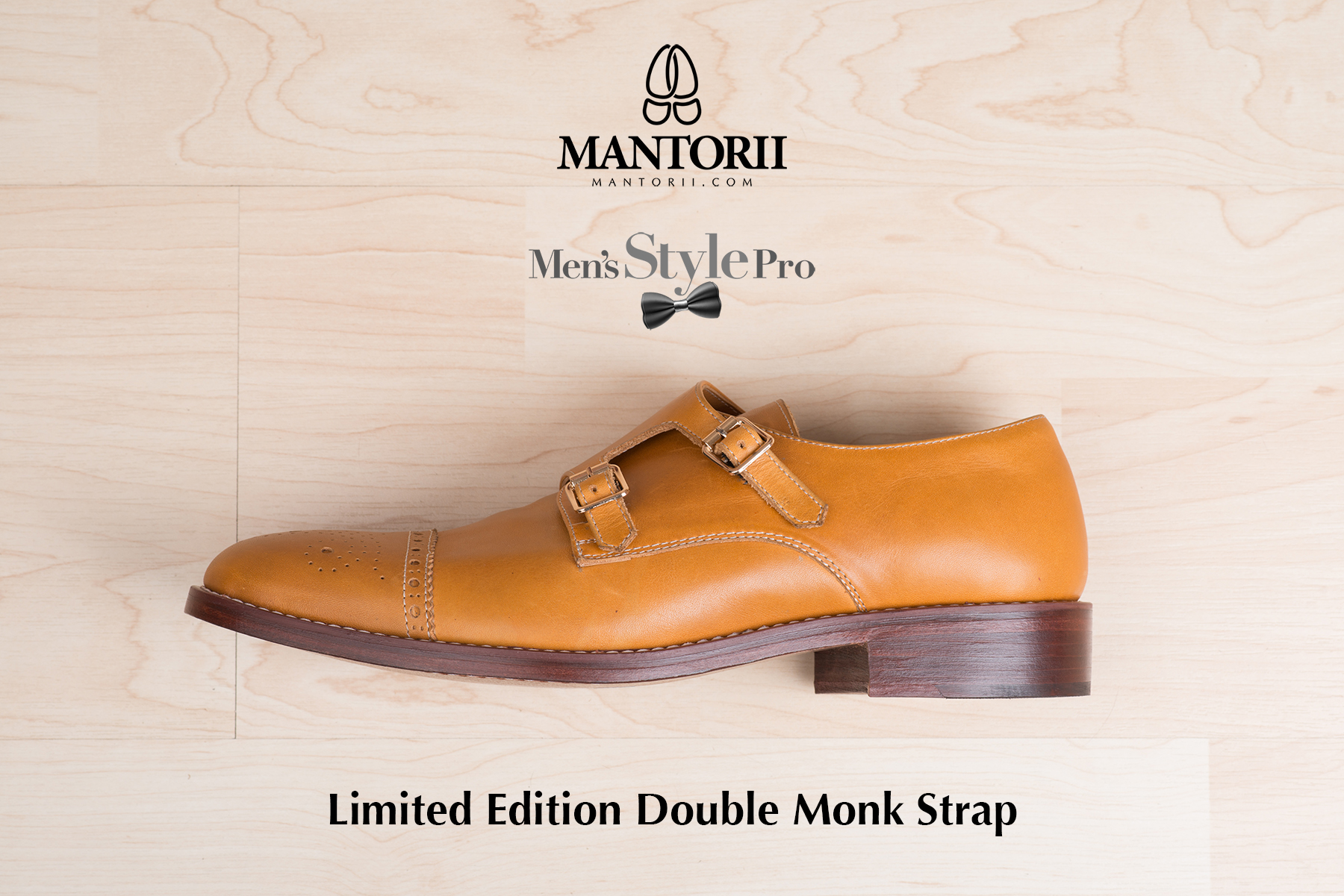 The Men S Style Pro X Mantorii Custom Double Monk Strap Shoes