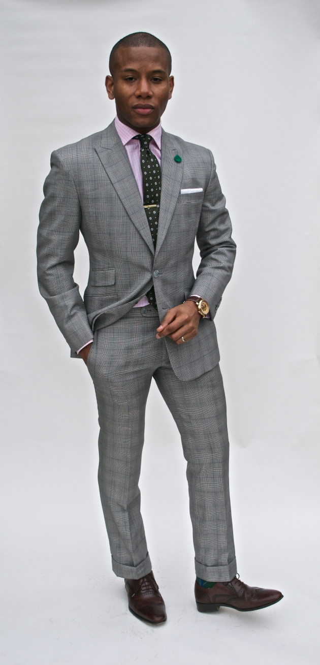 Glen Plaid Imparali Custom tailor suit x Men's Style Pro